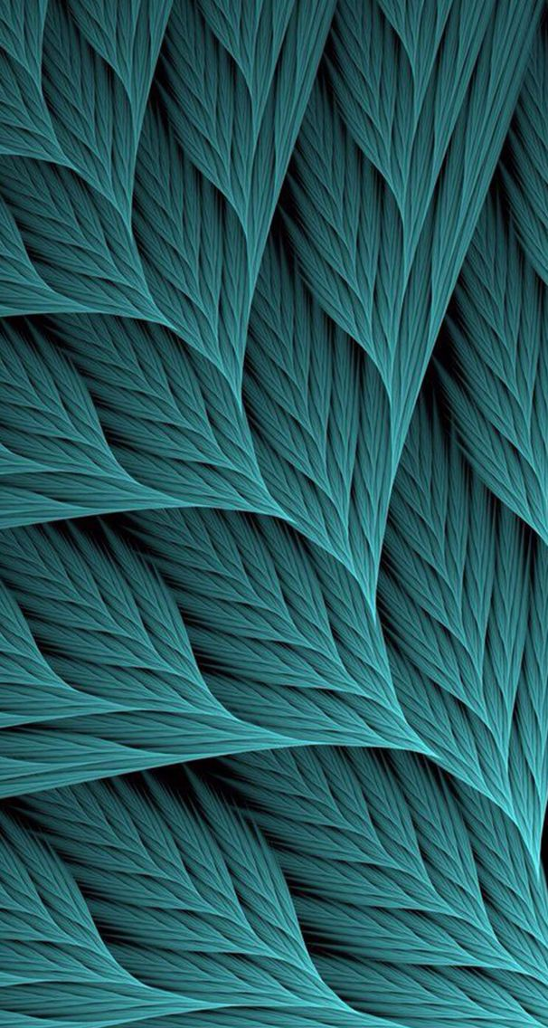 Teal   digital geometric shapes