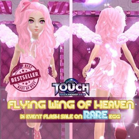 TOUCH ONLINE EVENT FLYING WING