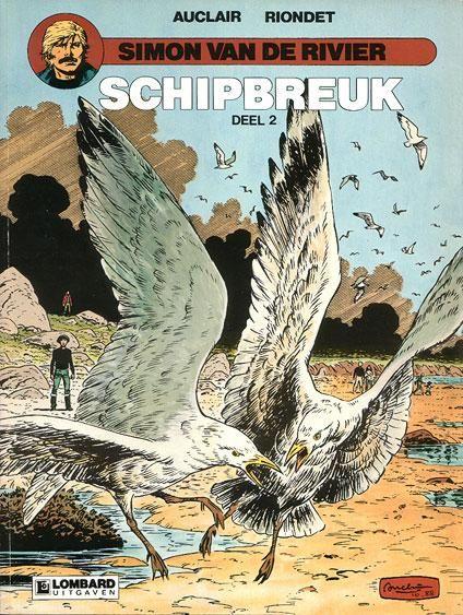 Simon van de rivier 9 Schipbreuk, Deel 2 - stripinfo.be