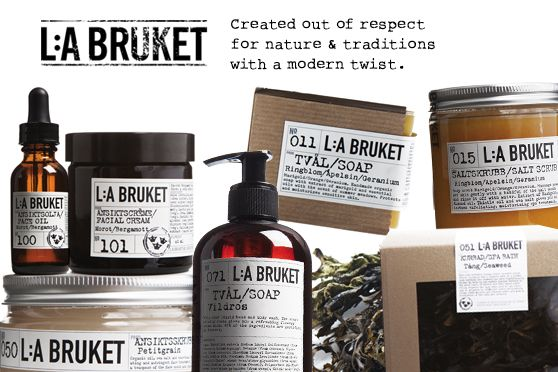 L:A Bruket from Sweden!