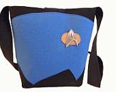 Star Trek Medium Handbag by BellaLise Designs: Trek Medium, Bellalise Designs, Handbags, Stars, Startrek, Geeky Designs, Star Trek