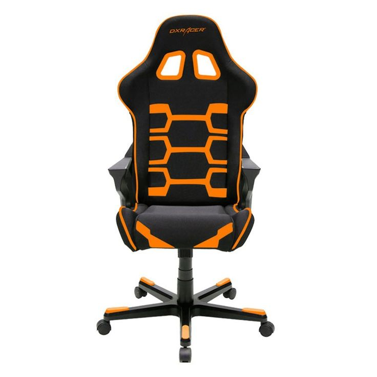 Amazon.com: DXRacer Origin Series DOH/OC168/NO Newedge Edition Racing Bucket Seat Office Chair Gaming Chair Ergonomic Computer Chair eSports Desk Chair Executive Chair Furniture With Pillows (Black/Orange): Kitchen & Dining