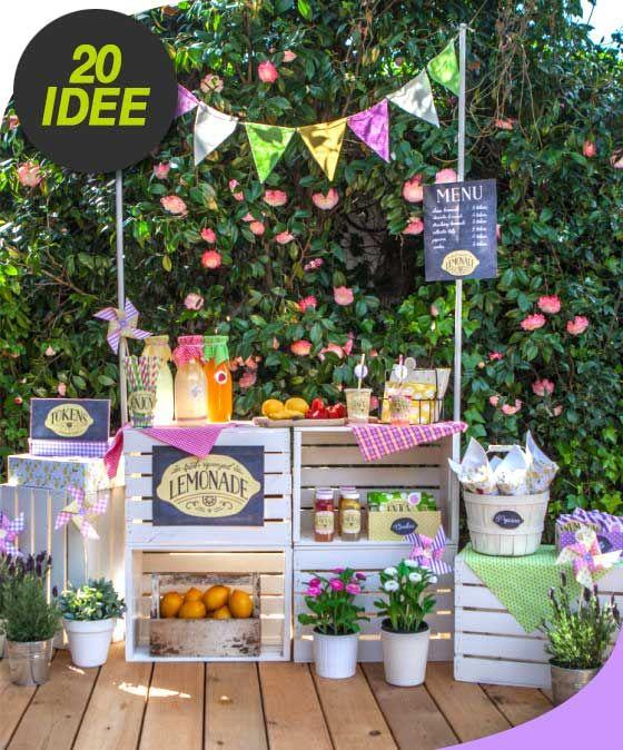 Oltre 25 fantastiche idee su feste in giardino su for Creare piccolo giardino