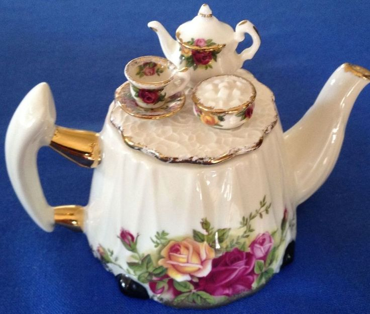 Royal Albert 1 Cup Victorian Tea Table Earthenware