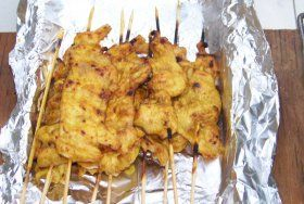 User uploaded image for Chicken Satay, 'Satay Gai'