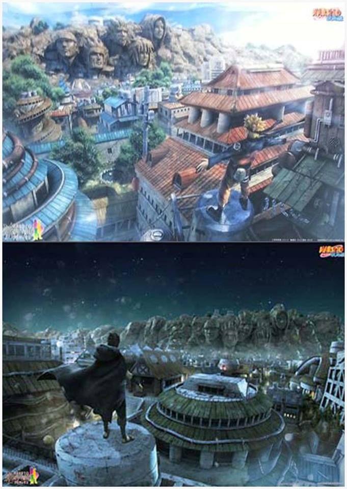 Naruto: beautiful contrast