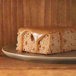 Oatmeal Cake with Caramel Icing Recipe: Brown Sugar, Caramel Ice Recipe, Sweet Treats, Eating Cakes, Caramel Frostings, Healthy Recipe, Healthy Cakes, Oatmeal Cakes With Caramel, Caramel Icing