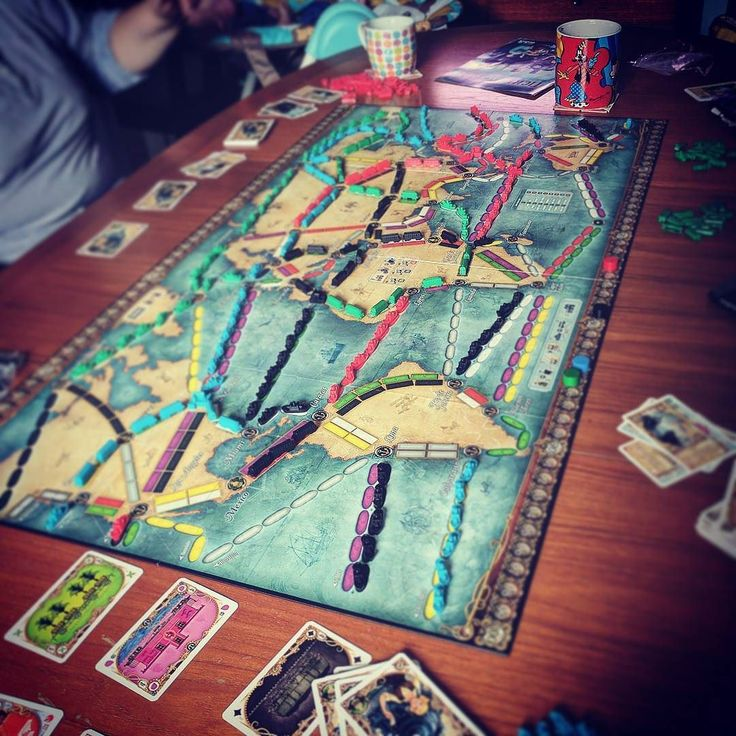 First play through of #TicketToRide #RailsAndSails a bit more to it than #TTREurope  _______________________________________________________ #boardgamepassion#boardgame#tabeltop #boardgamegeek#bgg#boardgamenight#tabletopgames #boardgames