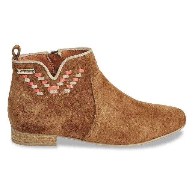 Boots cuir Platine LES TROPEZIENNES par M BELARBI