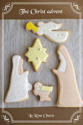 デコレーション教室 La Rose Cherie(ラ・ローズ・シェリー) -The Christ advent icing cookie