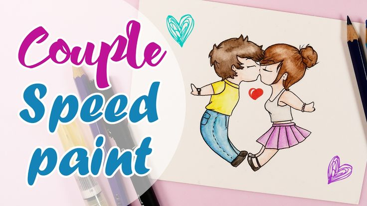Speedpaint Love couple - Disegno Coppia innamorata