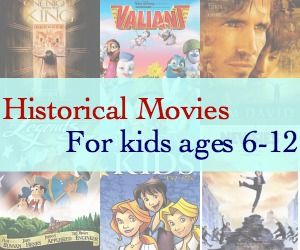 """Great educational & historical movies geared for kids ages 6-12!! These should entertain your kids, and teach them history all at the same time! Pick your faves as a family!! """" Liberty Kids """" is one of our favorites!!"""