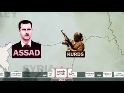 SYRIA'S WAR: A (5) MINUTE HISTORY - YouTube...some facts are debatable, but a good summary of what we hear on American news