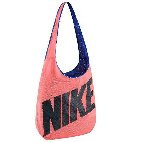 Nike Reversible Shoulder Bag, Adult Unisex, Orange ($35) ❤ liked on Polyvore featuring bags, handbags, shoulder bags, orange, crossbody handbags, long strap shoulder bag, long purses, nike and reversible handbag