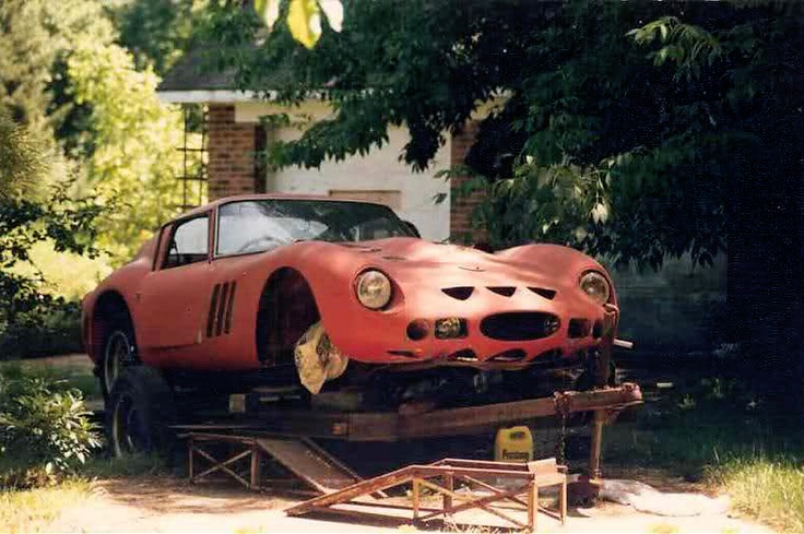 the ten greatest barn finds of all time racing ferrari and barns. Black Bedroom Furniture Sets. Home Design Ideas