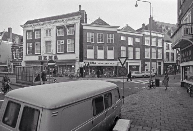 De HEMA in het centrum Haarlem De Hema aan de Kruisstraat in de jaren '60