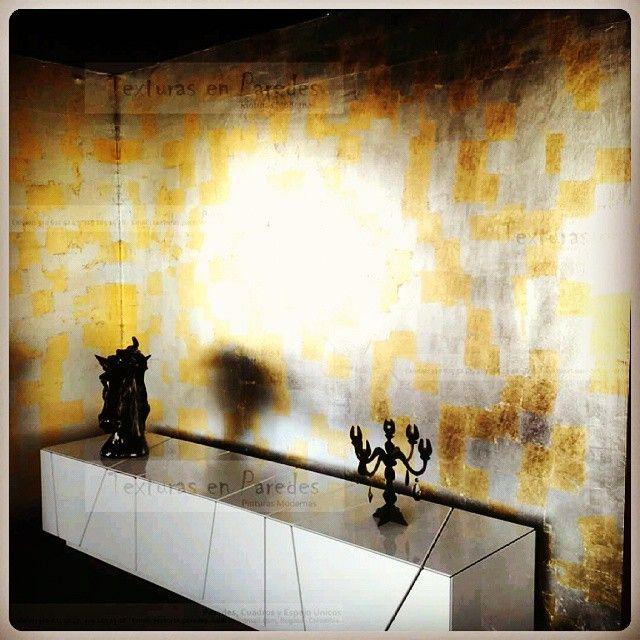 TEXTURA collage dorados