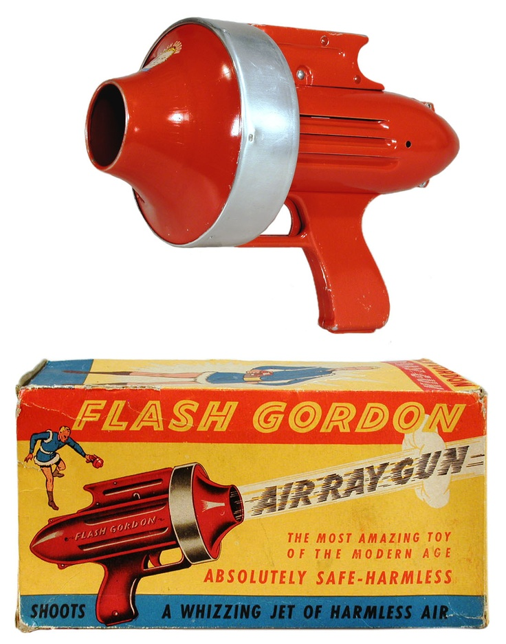 Flash Gordon Air Ray Gun Ray guns Pinterest Guns and