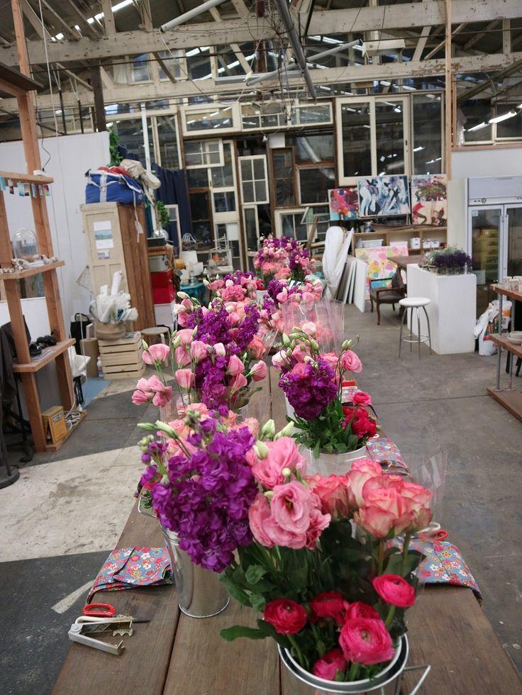 Vase arrangement workshop with flower lovers was a huge success! #flowerworkshopsydney