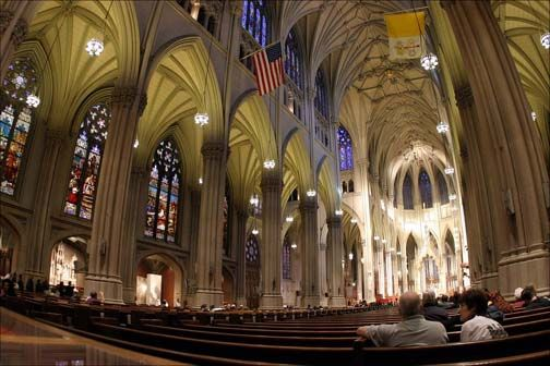 St. Patrick's Cathedral NYC inside