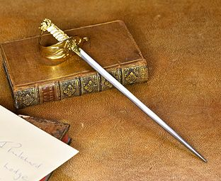 Royal Navy Sword Letter Opener | Ancestral Collections
