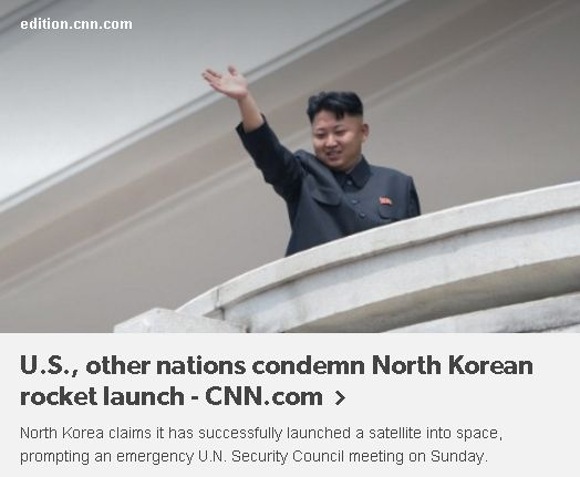 Kim launched a missile in commemoration of his father's birthday! But it humiliates his late father