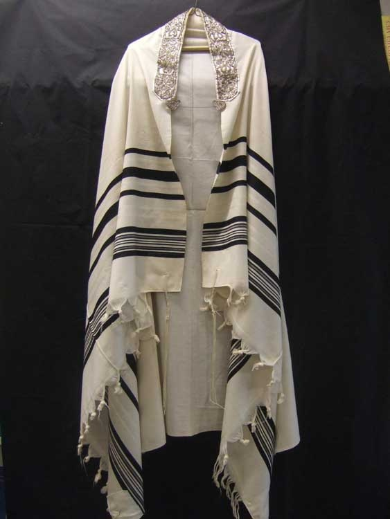 Traditional Jewish Prayer Shawl Judios Pinterest