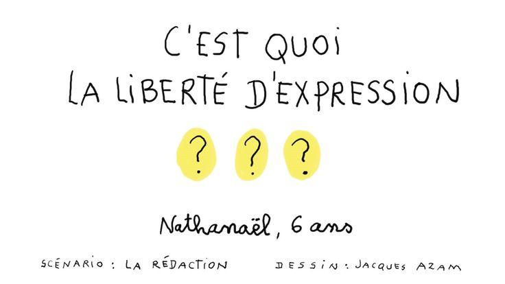 En réaction à l'attaque terroriste de Charlie Hebdo, 1jour1question explique aux enfants un droit fondamental : la liberté d'expression.