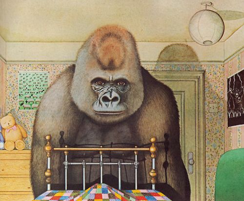 Gorilla by Anthony Browne ~ Alfred A. Knopf, 1983