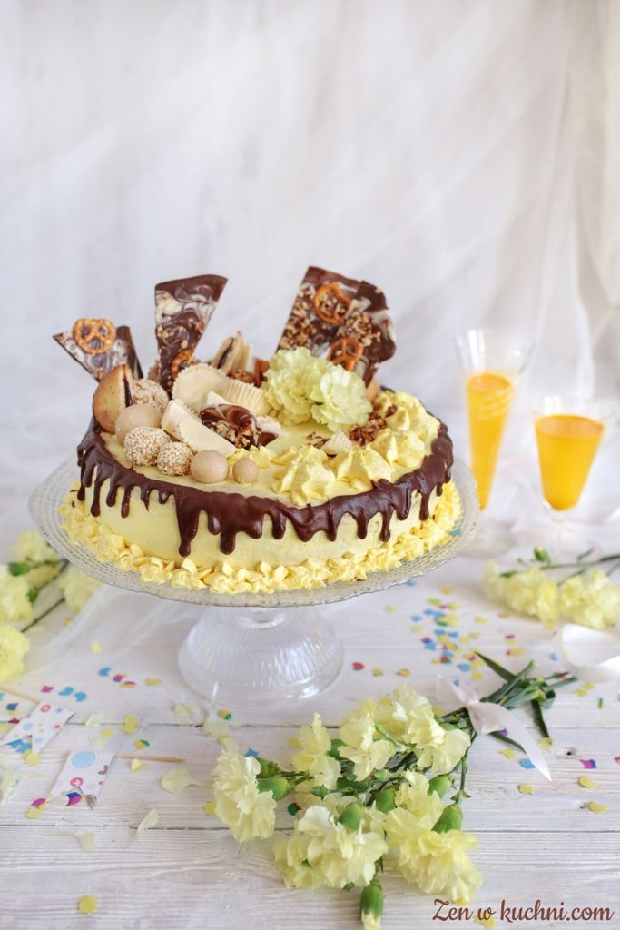Karmelowy tort tiramisu na Pierwsze Urodziny Bloga Zen w kuchni