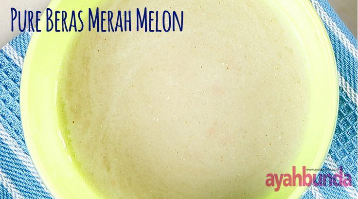 Pure Beras Merah Melon :: Klik link di atas untuk mengetahui resep pure beras merah melon