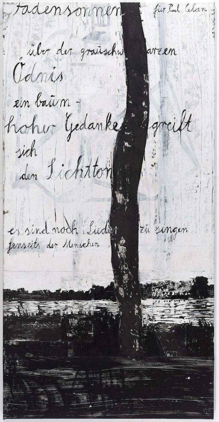 Anselm Kiefer   Fadensonnen – für Paul Celan - Threadsuns – for Paul Celan   1982–2013   Privatsammlung   © Anselm Kiefer und Ulrich Ghezzi #AlbertinaKiefer