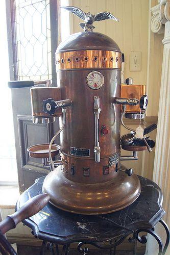 vintage espresso machines