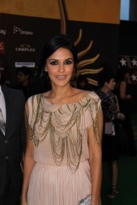 Neha Dupia is lovely at IIFA 2011. Photo: Jugni Style