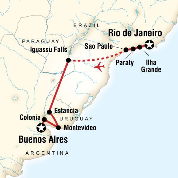 In Search Of Iguassu—Rio to Buenos Aires