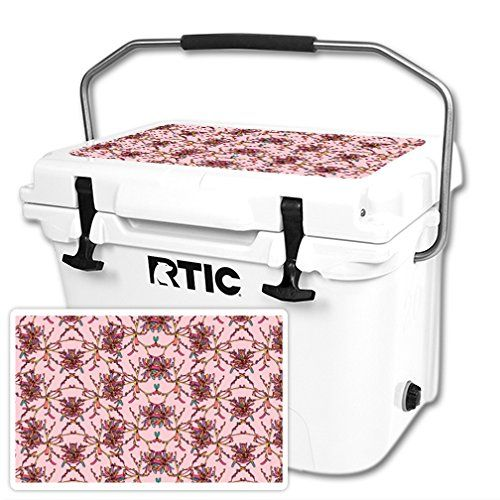 MightySkins Protective Vinyl Skin Decal for RTIC 20 Cooler Lid wrap cover sticker skins Flower Crown >>> Click image to review more details.-It is an affiliate link to Amazon.