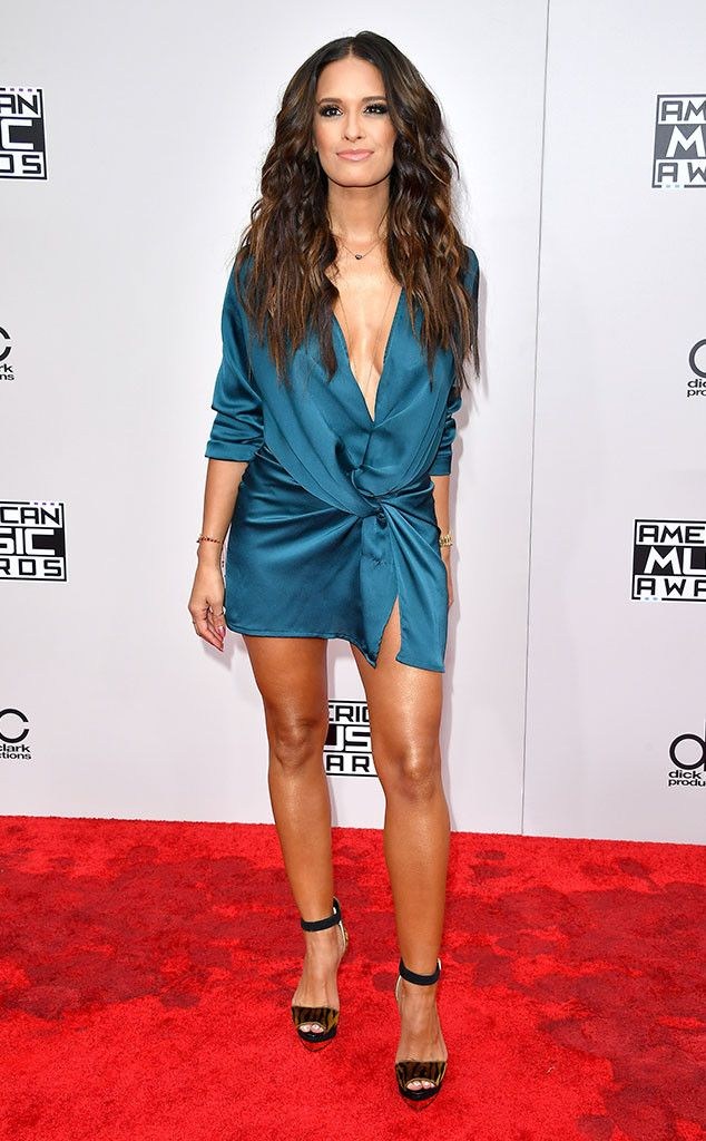 Rocsi Diaz from 2016 AMAs Red Carpet Arrivals