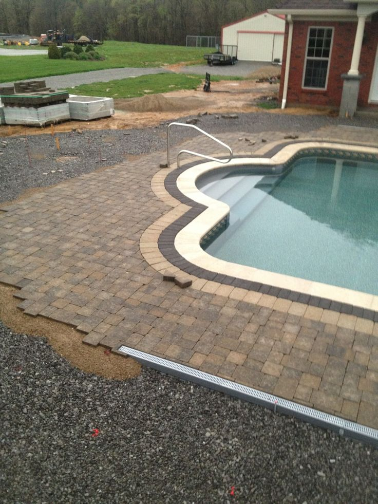 11 best landscaping images on pinterest drainage for Patio drainage