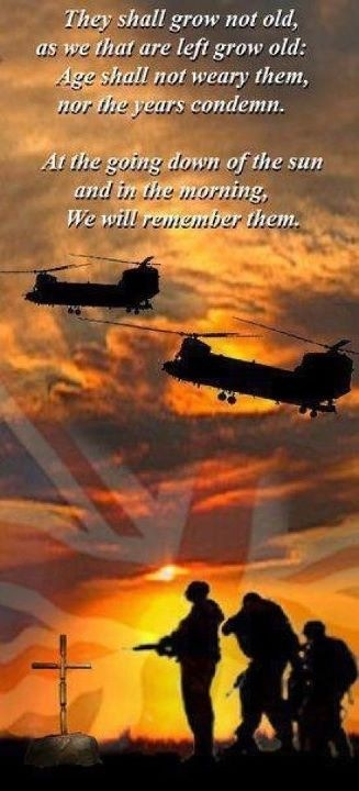 The eleventh hour of the eleventh day of the eleventh month. We will remember them!