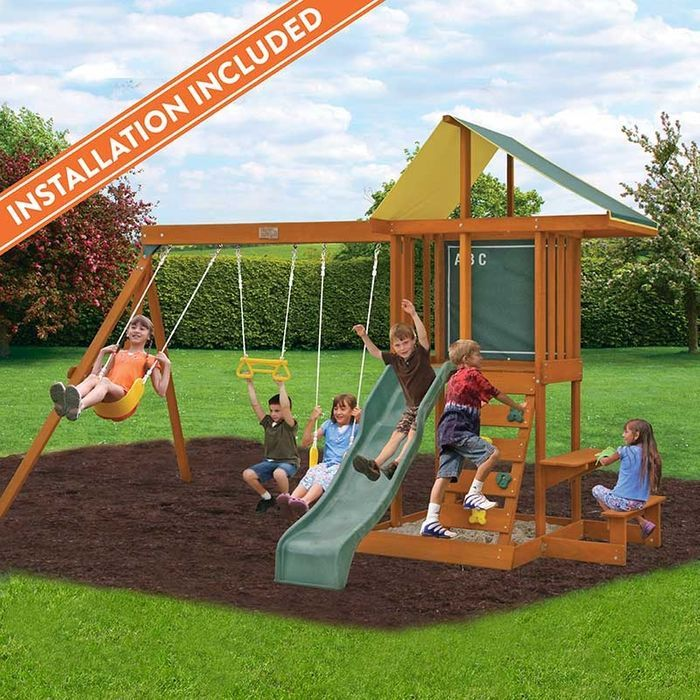 Springfield Ii Wooden Playset Assembly Included In 2019 Outside