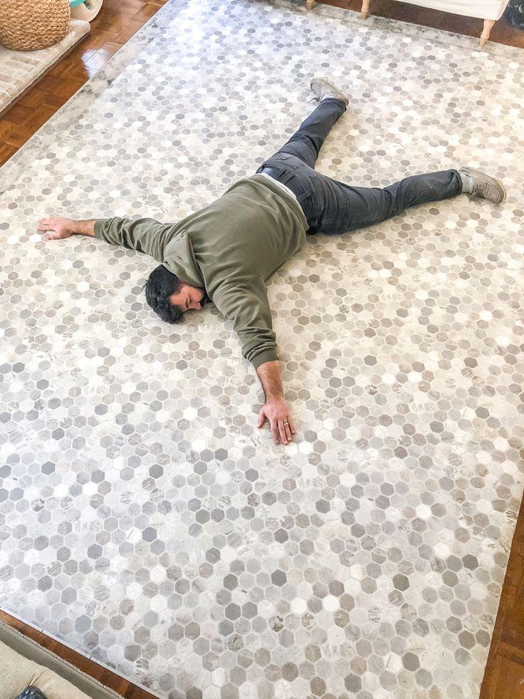 How to install sheet vinyl flooring over tile vinyl