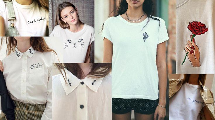 Trend: Bordado na T-shirt e Feminismo