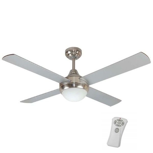 "Mercator - Glendale 48"" Ceiling Fan With Light and Remote"