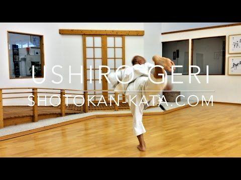 Ushiro Geri (Karate Kick) - YouTube