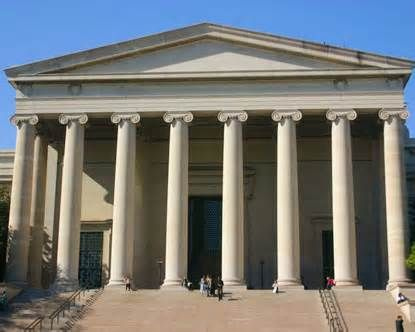 National Gallery of Art always has many exhibitions in addition to its own collections of art.