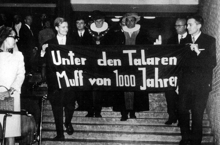 Widerstand und Schwermut: Studentenprotest an der Hamburger Universität im...