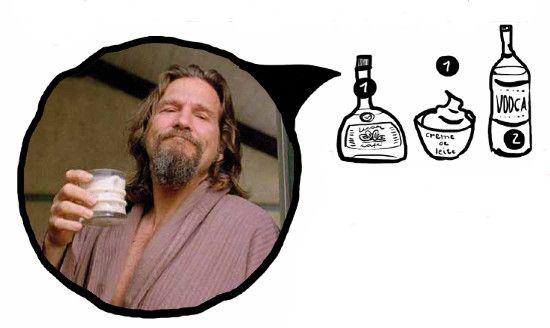 Aprenda a fazer o milk-shake alcoólico de 'O Grande Lebowski'