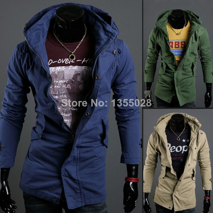 2014 New Autumn Slim Fashion Casual Outwear Jacket M,L,XL,XXL $37.99