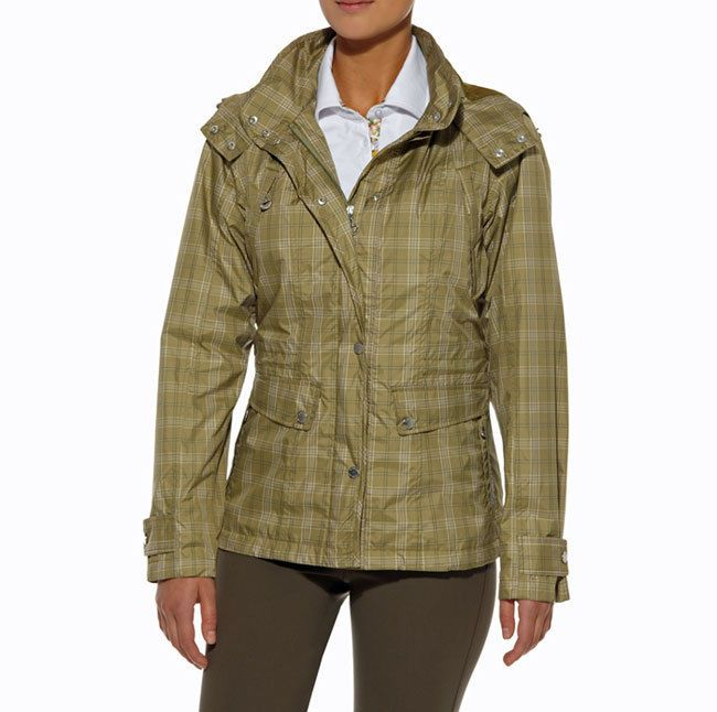 ARIAT - Women s Burney Waterproof Jacket - Olive Plaid - ( 10008955 ) - New