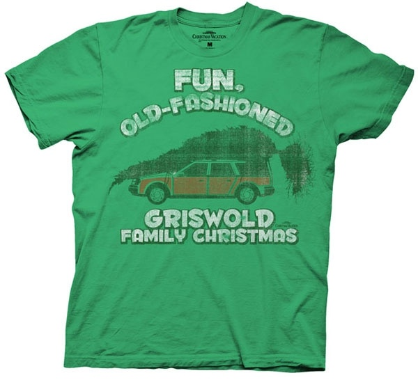 This Officially Licensed Christmas Vacation Shirt Features